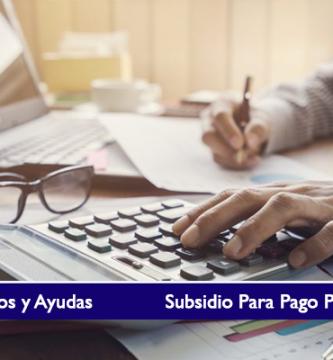 Subsidio Para Pago Prima